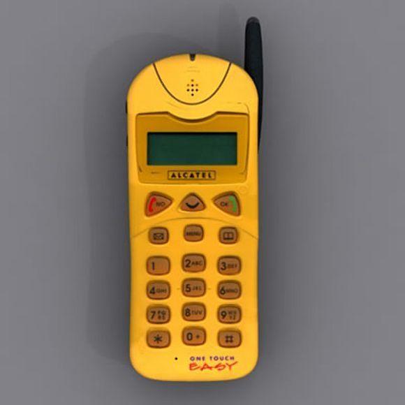 Alcatel One Touch Easy Retro Phone Mobile Phone Design Phone