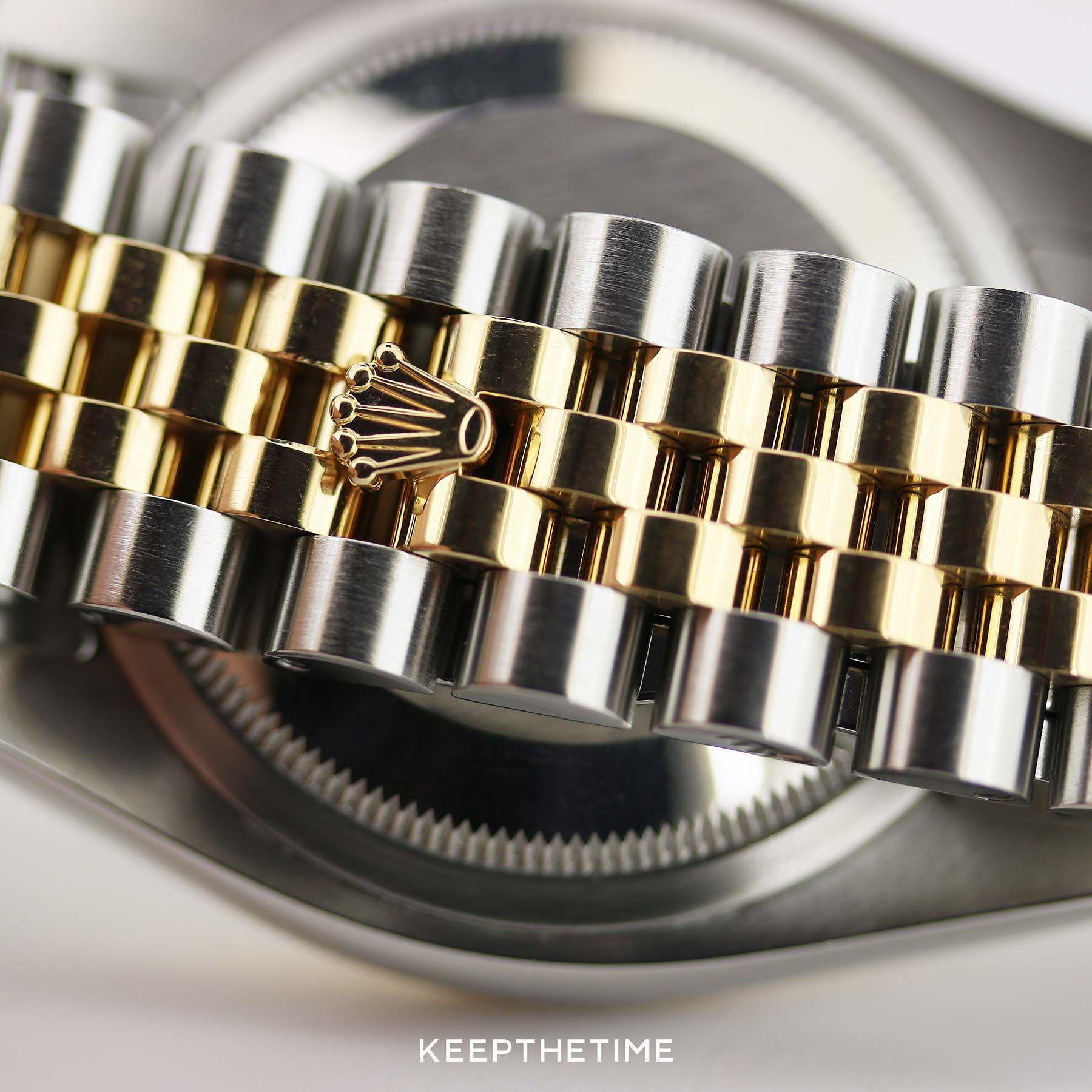 Two,Tone Rolex Datejust 116233 Hidden Clasp in 2019