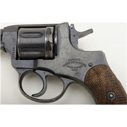 Russian Nagant DA revolver dated 1916, 7 62mm cal , 4-1/2