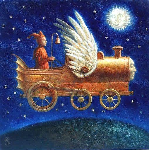 "Jake Baddeley                                            ""The sleepy train I"""