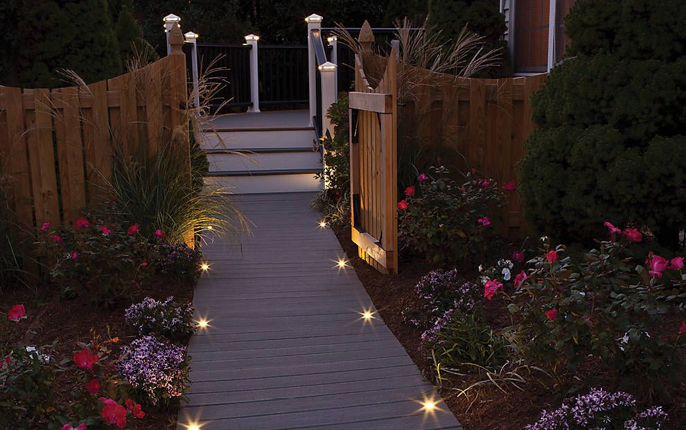 Deck Lighting Led Step Stair Lights Post Lights Step Lighting Walkway Lights Deck Lighting