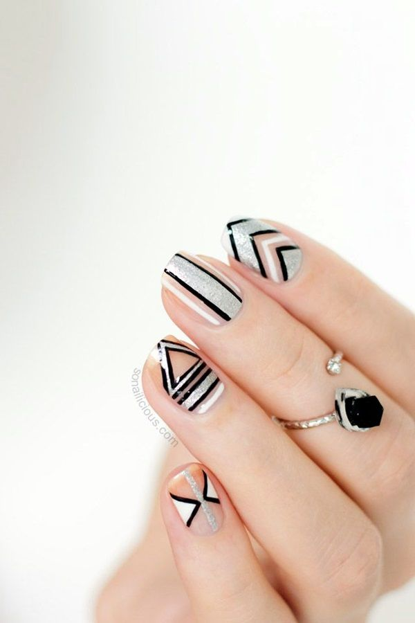 55 Easy New Years Eve Nails Designs and Ideas 2018 | Avon, Manicure ...