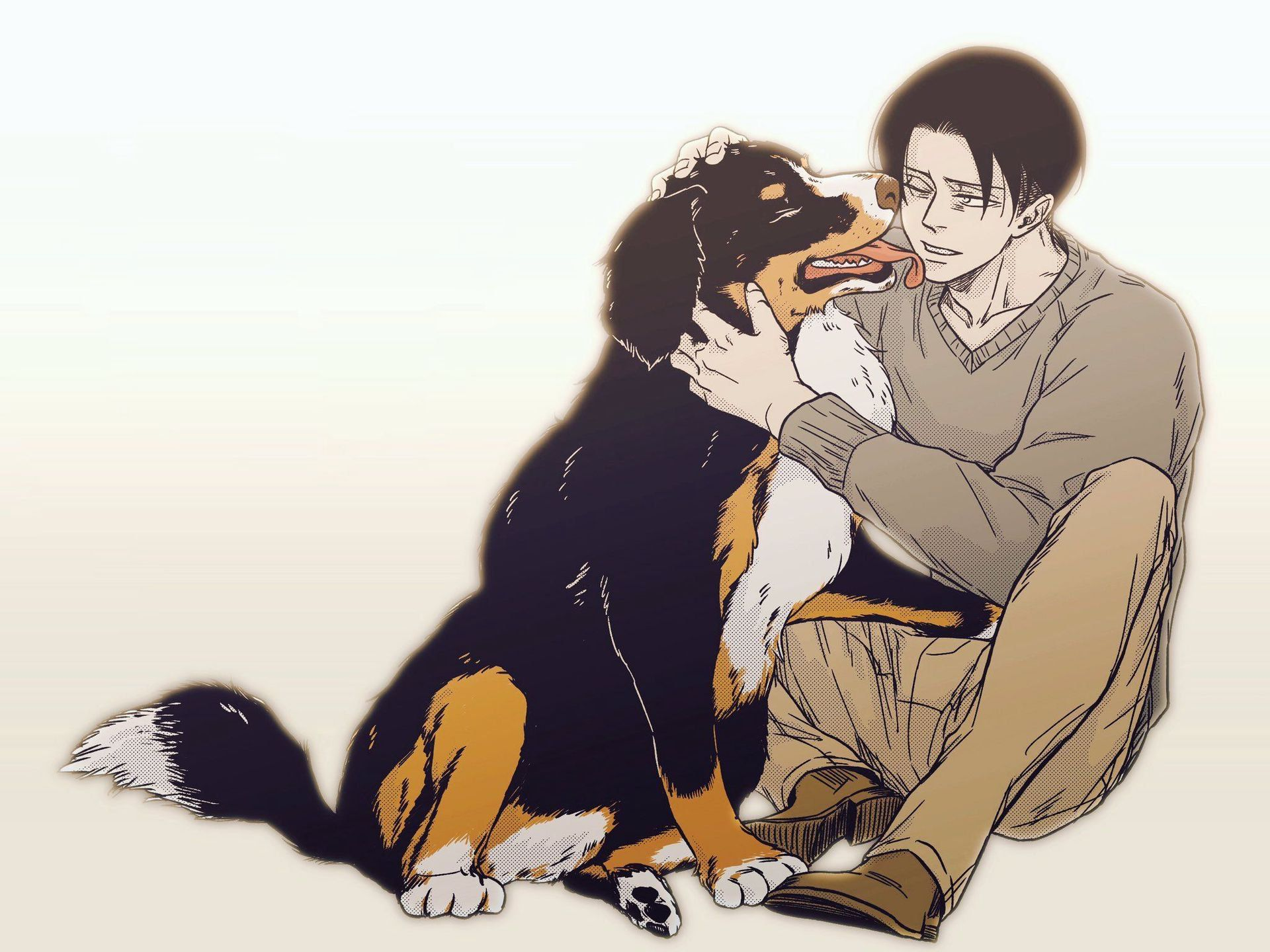 Levi x Reader Oneshots Book #2 (REQUESTS ARE CLOSED) - Inu!Levi x