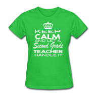 Keep calm and let a second grade teacher handle it!