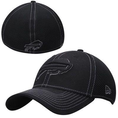 Buffalo Bills New Era Neo 39THIRTY Flex Hat - Black  3ea768e4f