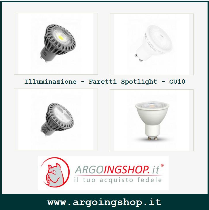 🔖 Illuminazione - V-TAC Faretti Spotlight - GU10 🔖 ✓ ARGOING ...