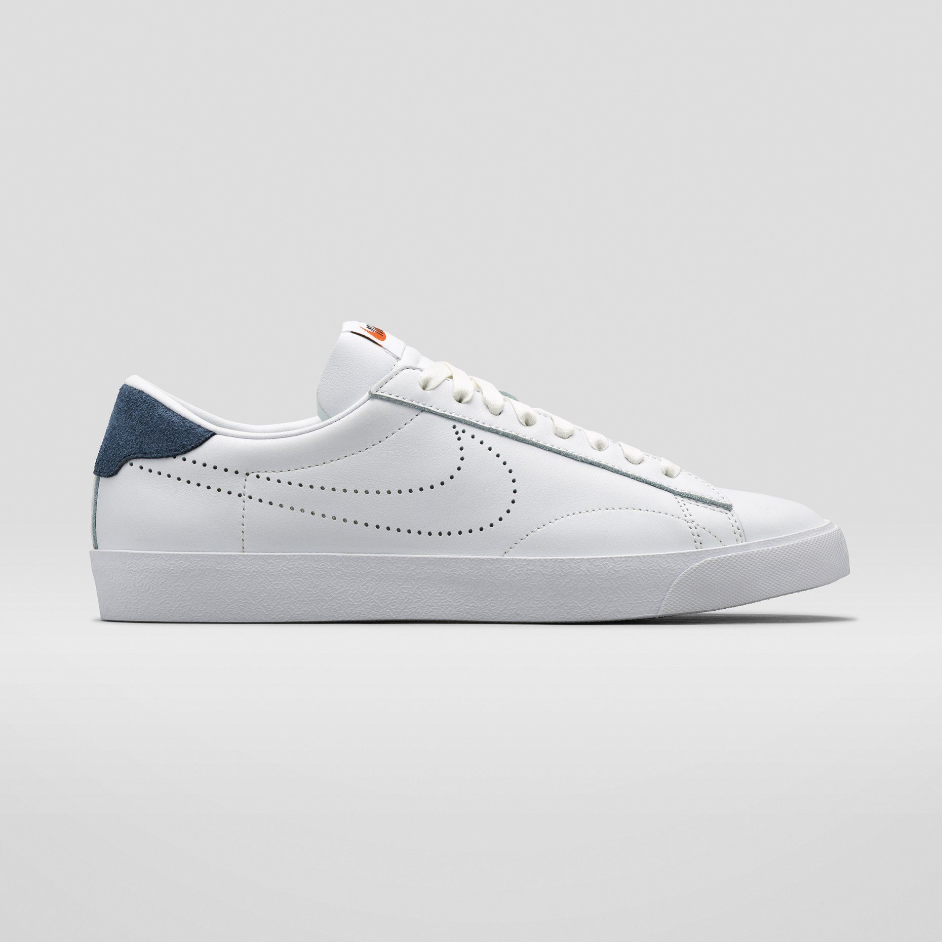 save off 8740d 8ac8d Nike x Japan s Fragment Design with a perforated swoosh.  110