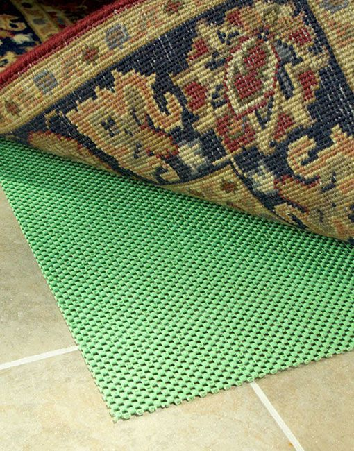 Super Hold Rug Pad To Prevent Your From Moving All Types Of Hard Floors