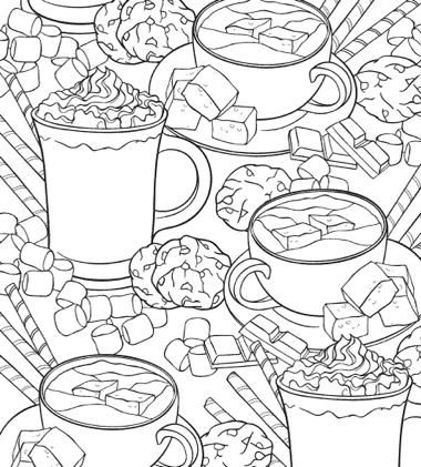 75 Best Coloring Books For Adults Christmas Coloring Books Mandala Coloring Pages Food Coloring Pages