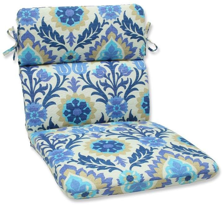 Turquoise Blue Outdoor Seat Cushions