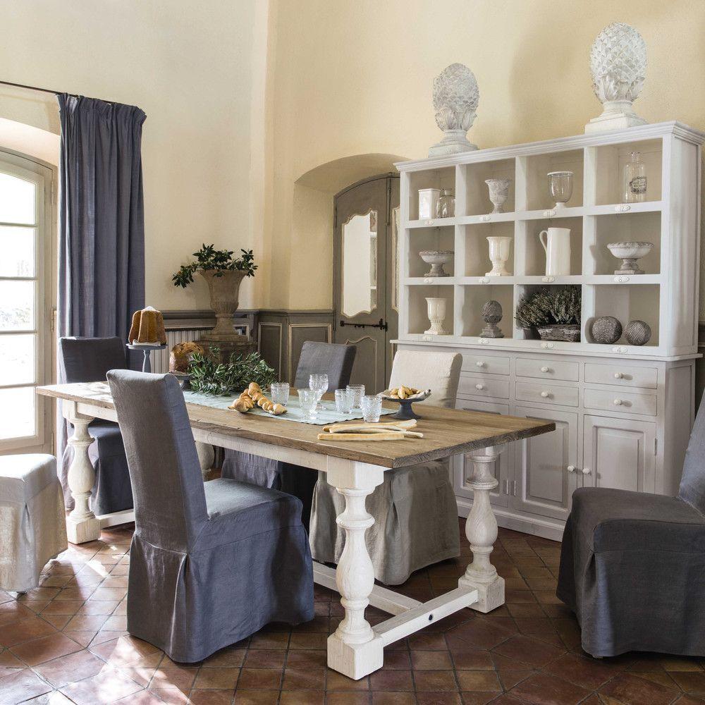 Tavolo per sala da pranzo in massello di pino L 250 cm