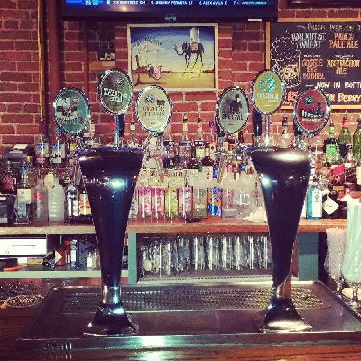 Come in and try one of our six beers on tap!
