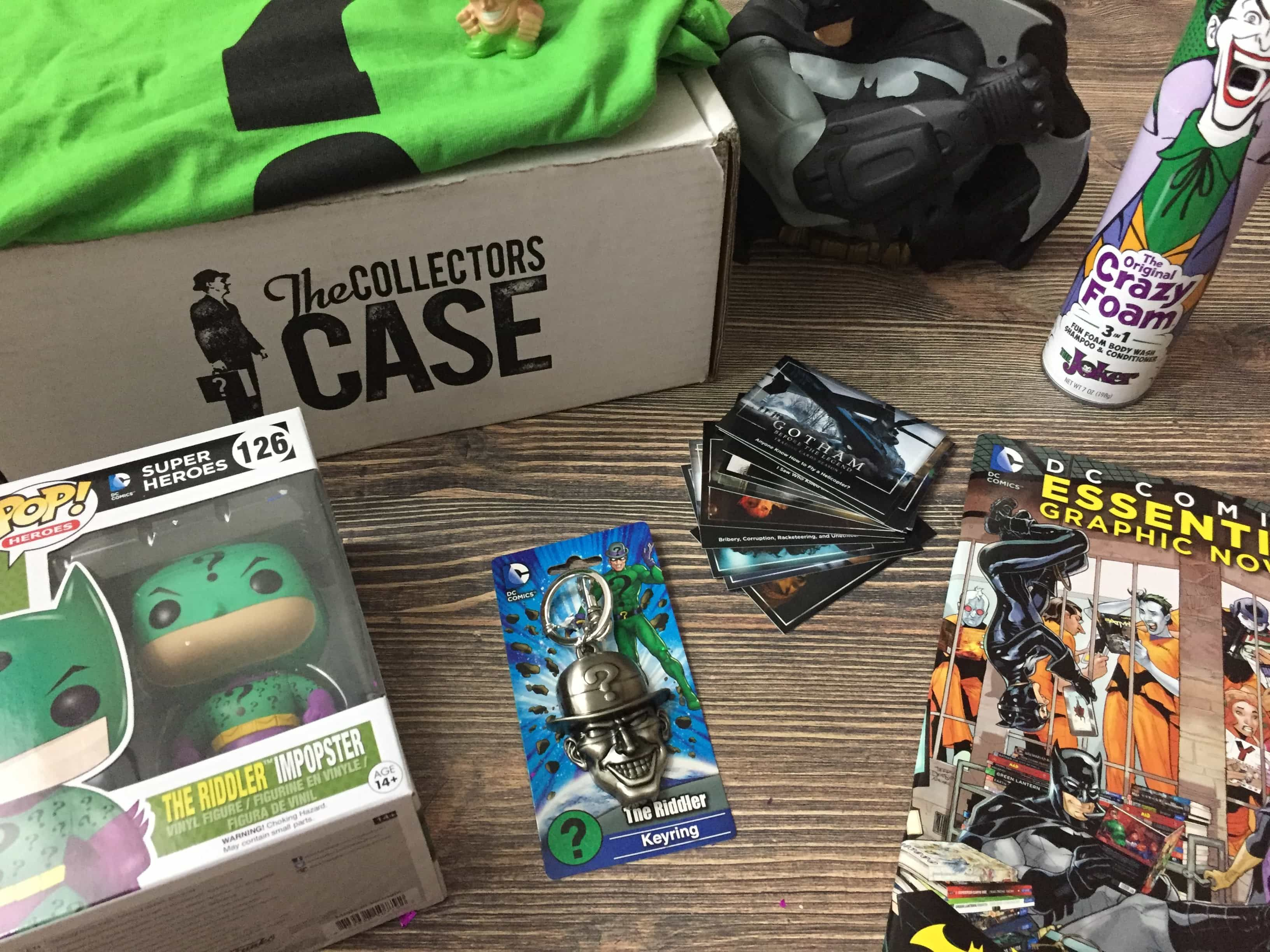 The Collectors Case Mystery box subscription, Mystery