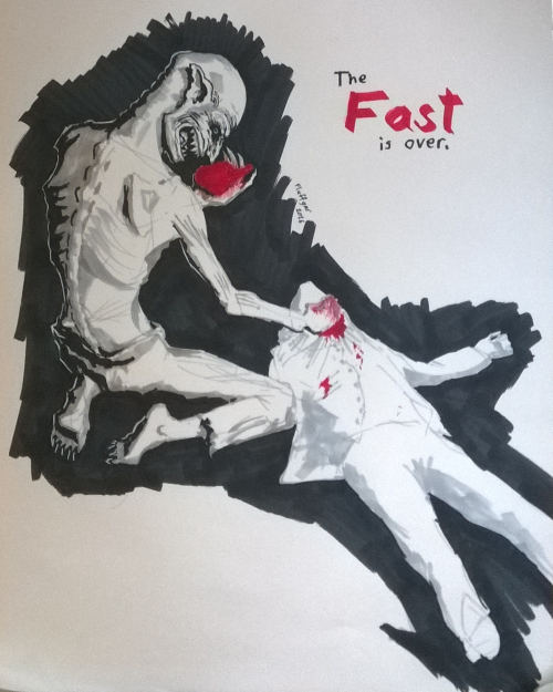 My first contribution to Inktober.  Day one theme: Fast  #inktober #inktober2016