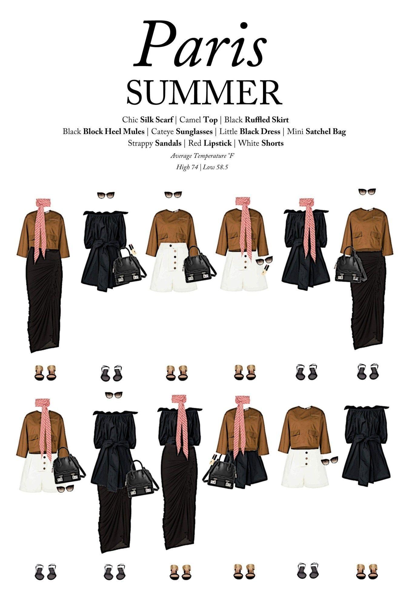 Was Sie Diesen Sommer In Paris Tragen Sollten Von Outfits For Travel Travelwardrobesummer In 2020 Franzosische Outfit Franzosisch Frauen Stil Minimalistische Kleidung
