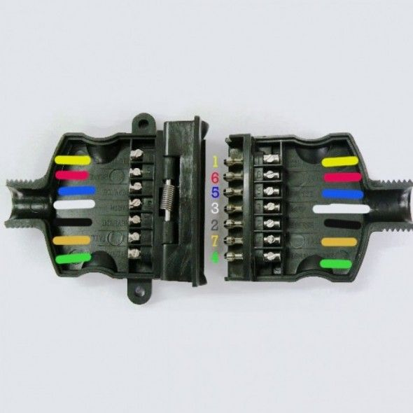 Trailer Wiring Diagram 7 Pin Flat Di 2020
