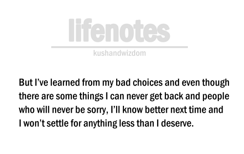 dont settle for anything than u deserve