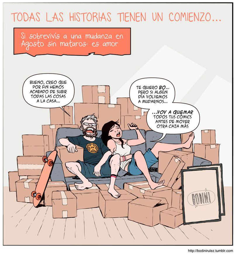 """Los Bodini, viñetas de amor en historias """"diarias"""""""