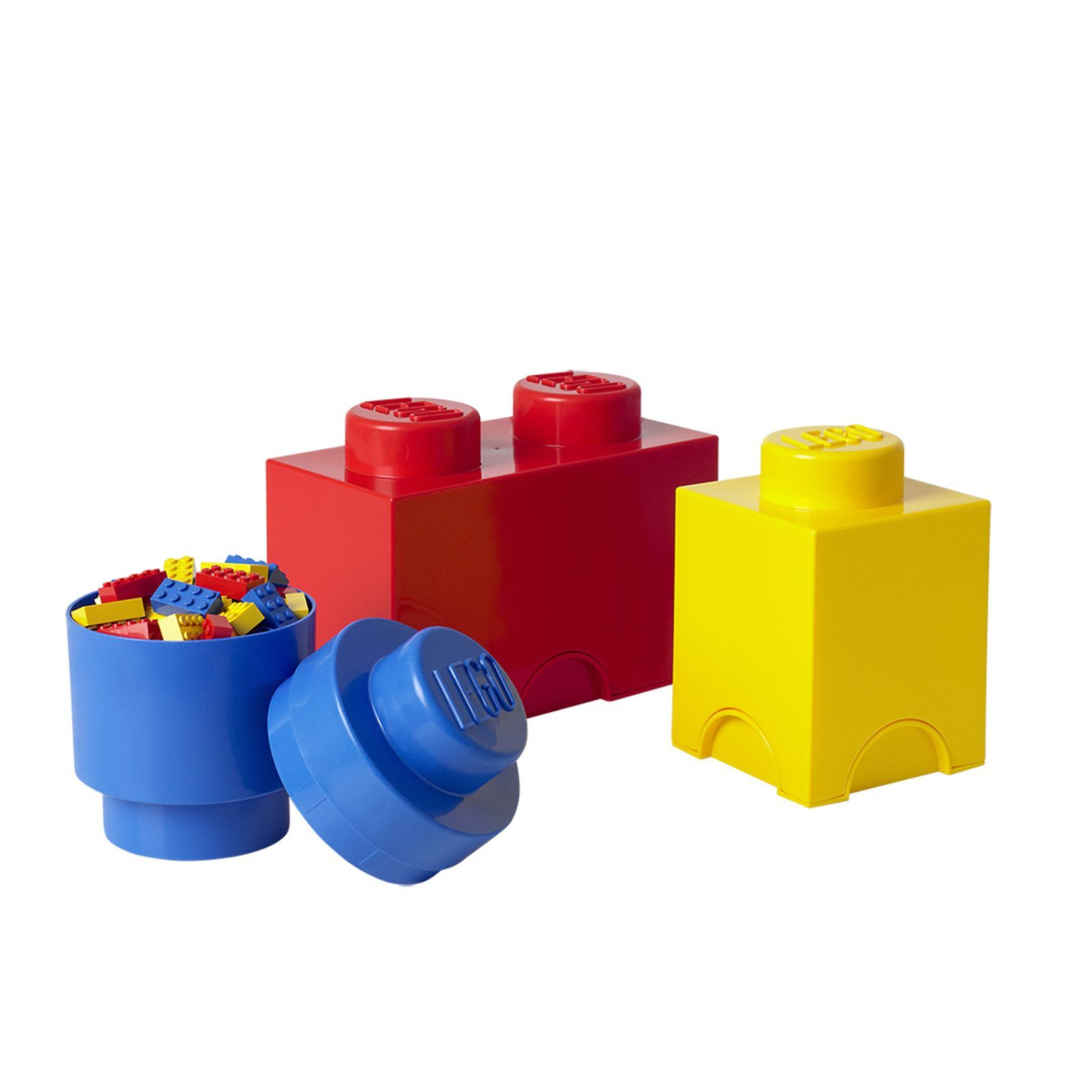 LEGO Storage Brick 3 piece Multi Pack by LEGO Lego storage brick