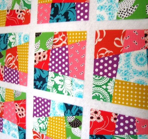 HOW TO - Make a Crazy Nine-Patch Quilt Block | Patch quilt ... : crazy nine patch quilt - Adamdwight.com