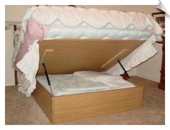Lift U0026 Store Storage Bed   Queen I Need This!