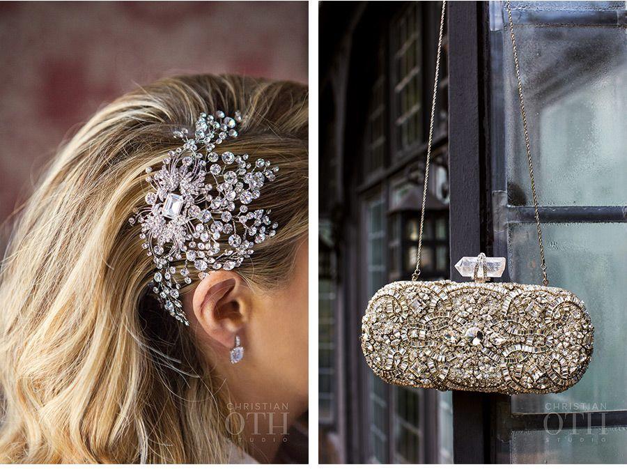 So much sparkle! Our beautiful bride Danielle rocked her Swarovski ...