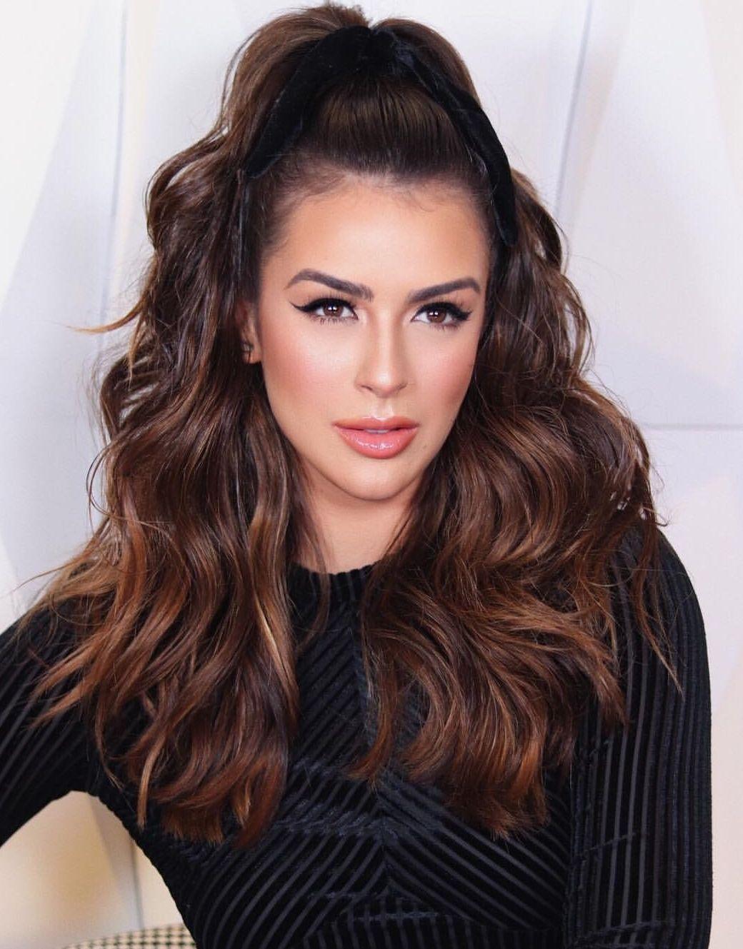 #hair #MariSaad   Cabelos lisos, Penteados para cabelo ...