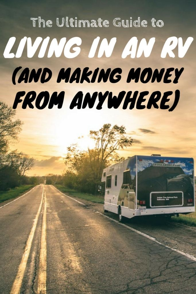 Ultimate Guide to Living In An RV Full Time #rvliving