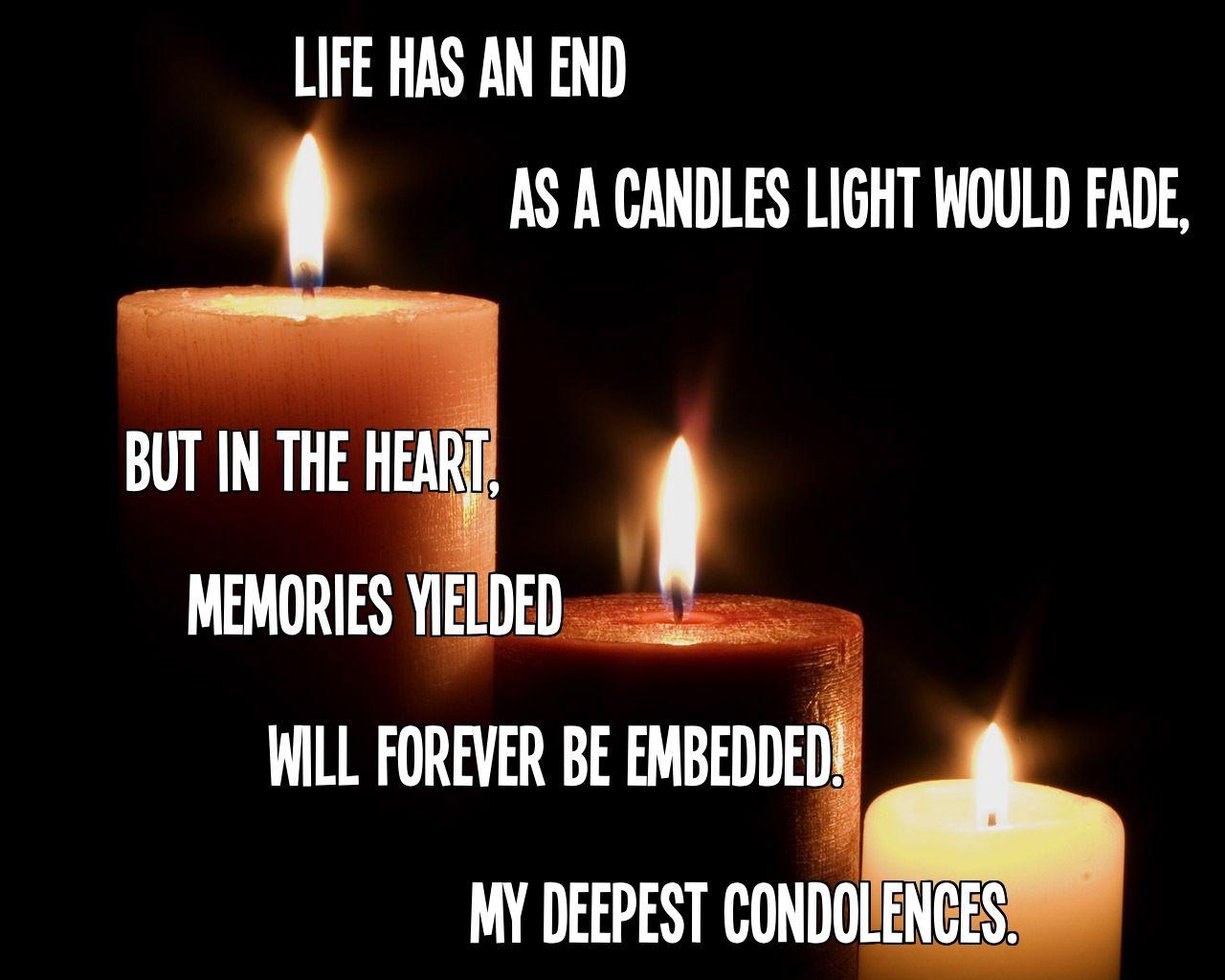 Condolences quotes