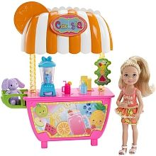 Toysrus Manualidades.Barbie Chelsea Smoothie Stand Mattel Toys R Us Minis