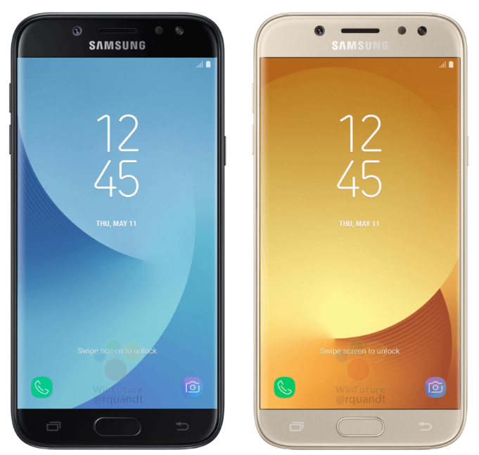 Leak Galaxy J5 2017 Appears In 4 Different Colors Samsung Galaxy Samsung Different Colors
