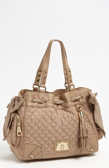 Juicy Couture Daydreamer Quilted Nylon Tote Available At Nordstrom Glitterinjuicy Givemewhatiwant
