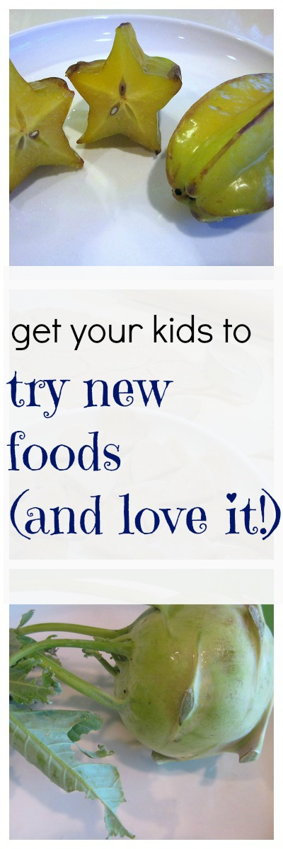 how to get your kids to try new foods: new for us friday #weteach