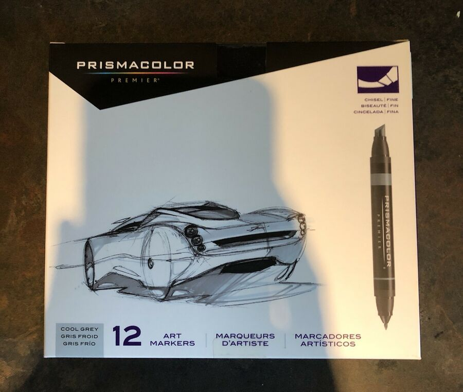Prismacolor Premier Double Ended Art Markers Fine Chisel