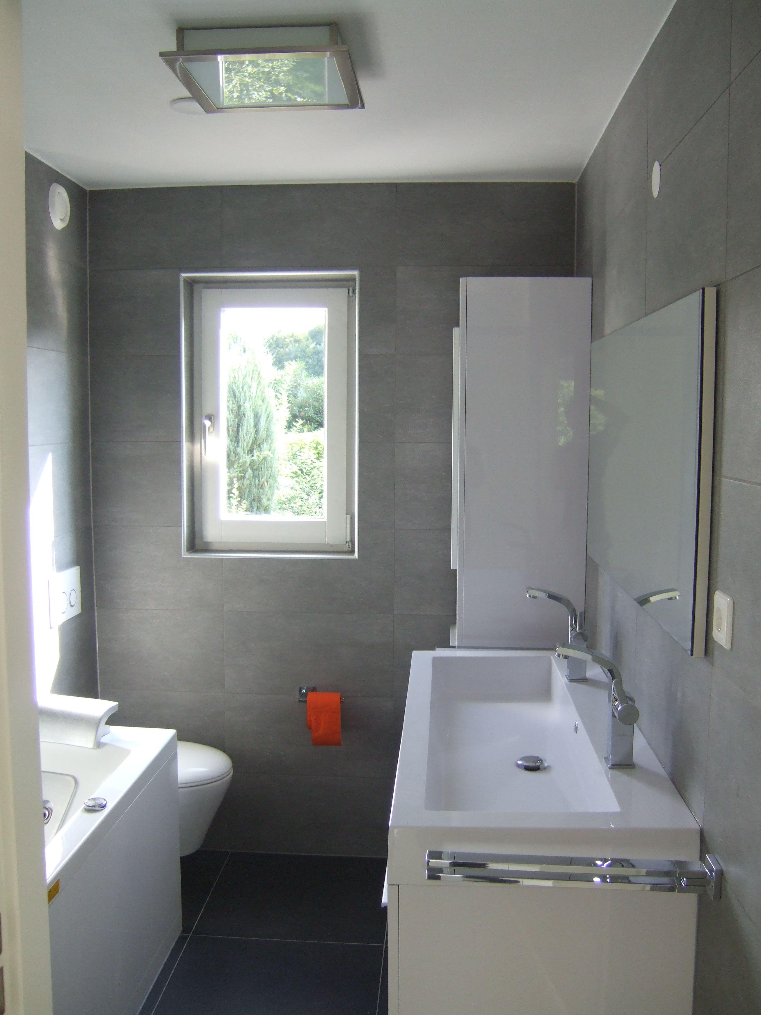 Bad voor badkamer - Muur wc ...