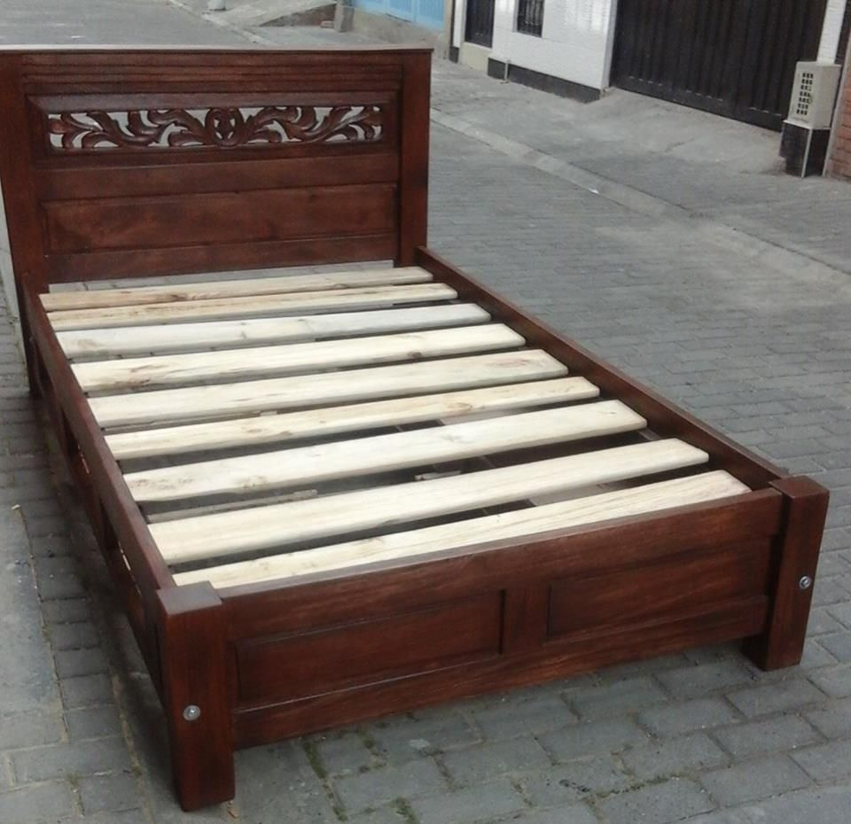 resultado de imagen para camas en madera rustica maderas