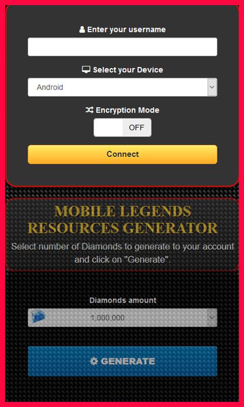 Mobile Legends Diamond Hack — Get Unlimited Free Diamonds
