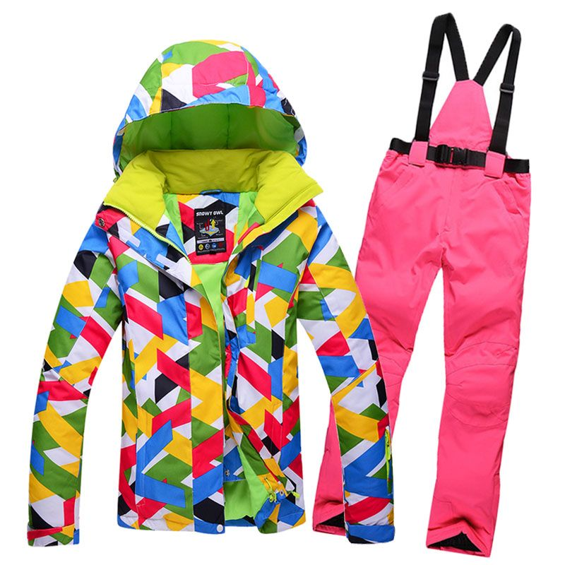 High-quality outdoor New Womens Winter Skiing Jackets Windproof waterproof  warm Colorful Top Quality ski a81bc5ebc