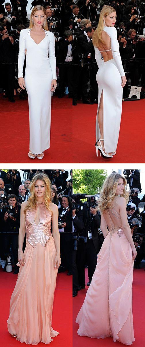 Doutzen Kroes - Cannes 2013, red carpet, red carpet, dress, gown, evening, night out