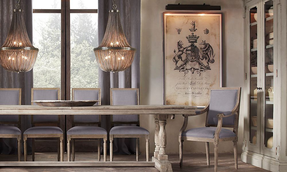 Rooms Restoration Hardware Love The Picture On Wall Would Be Awesome To Do This With Frisbie Family Crest