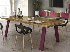 Tavolo Bizzotto ~ Tavolo da pranzo rettangolare in legno collezione sidney by
