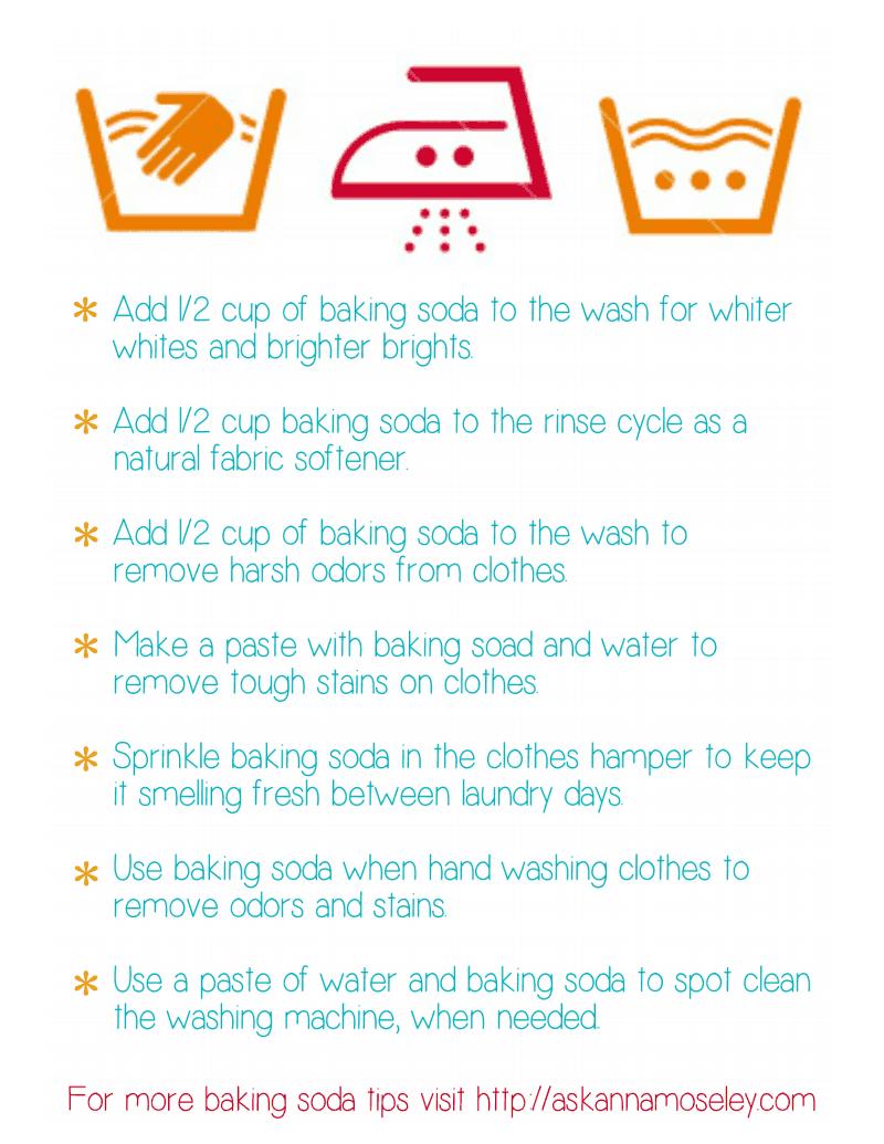 Laundry Tips With Baking Soda Pdf Google Drive Laundry Hacks
