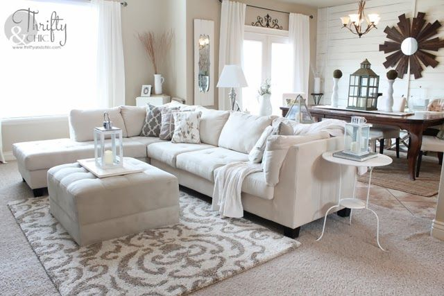 How To Fake A Clean House For Those Last Minute Visitors Rugs In Living Room Living Room Carpet Apartment Living