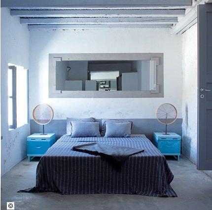 Best chambre a coucher gris et bleu ideas design trends 2017
