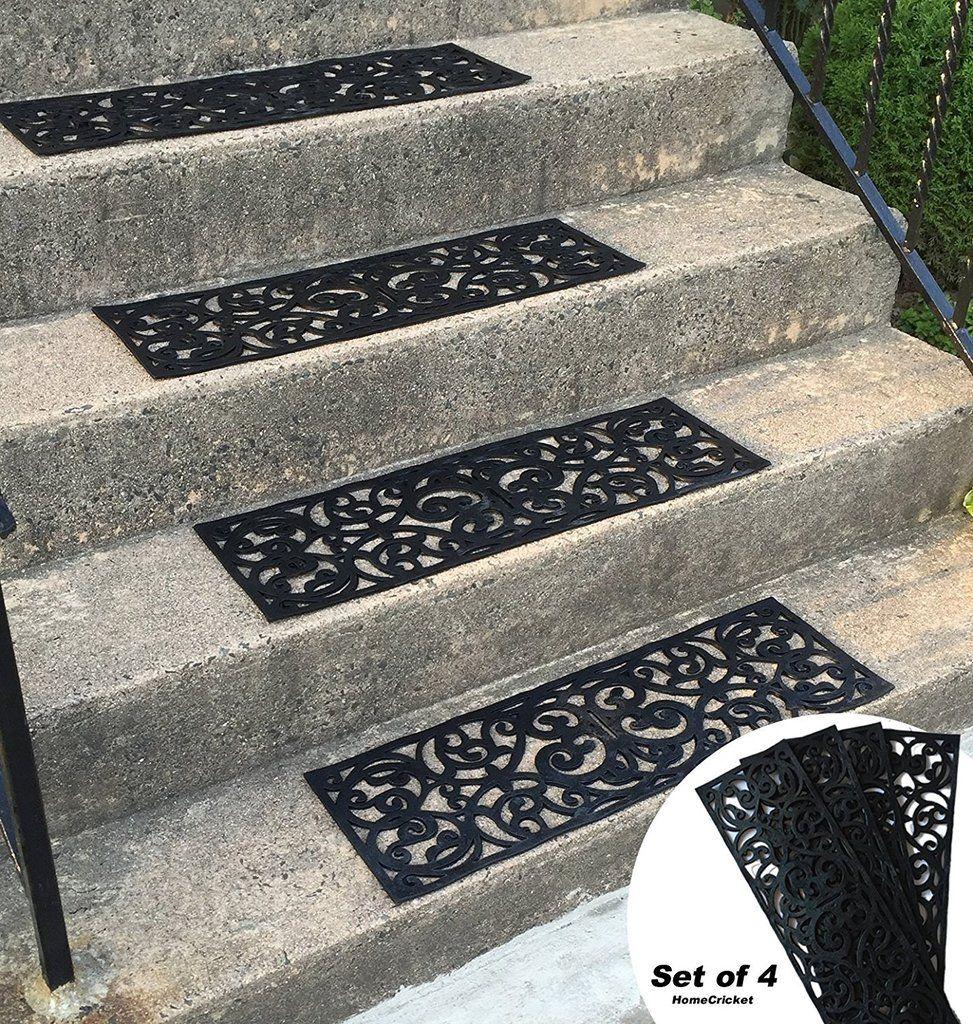 Best Traction Control Non Slip Rubber Unique Stair Tread Mats 400 x 300