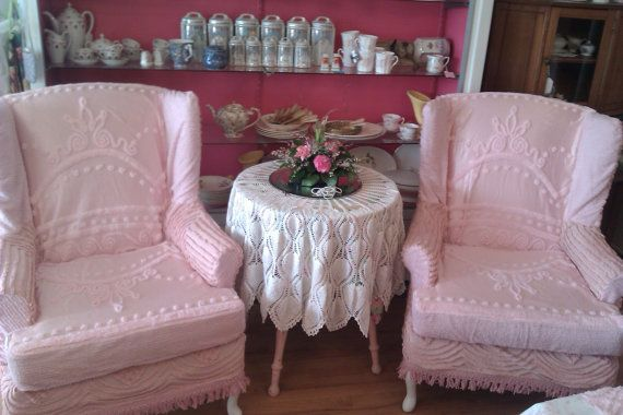 Just want to tuck my legs under, read a book and drink some tea in these chairs!