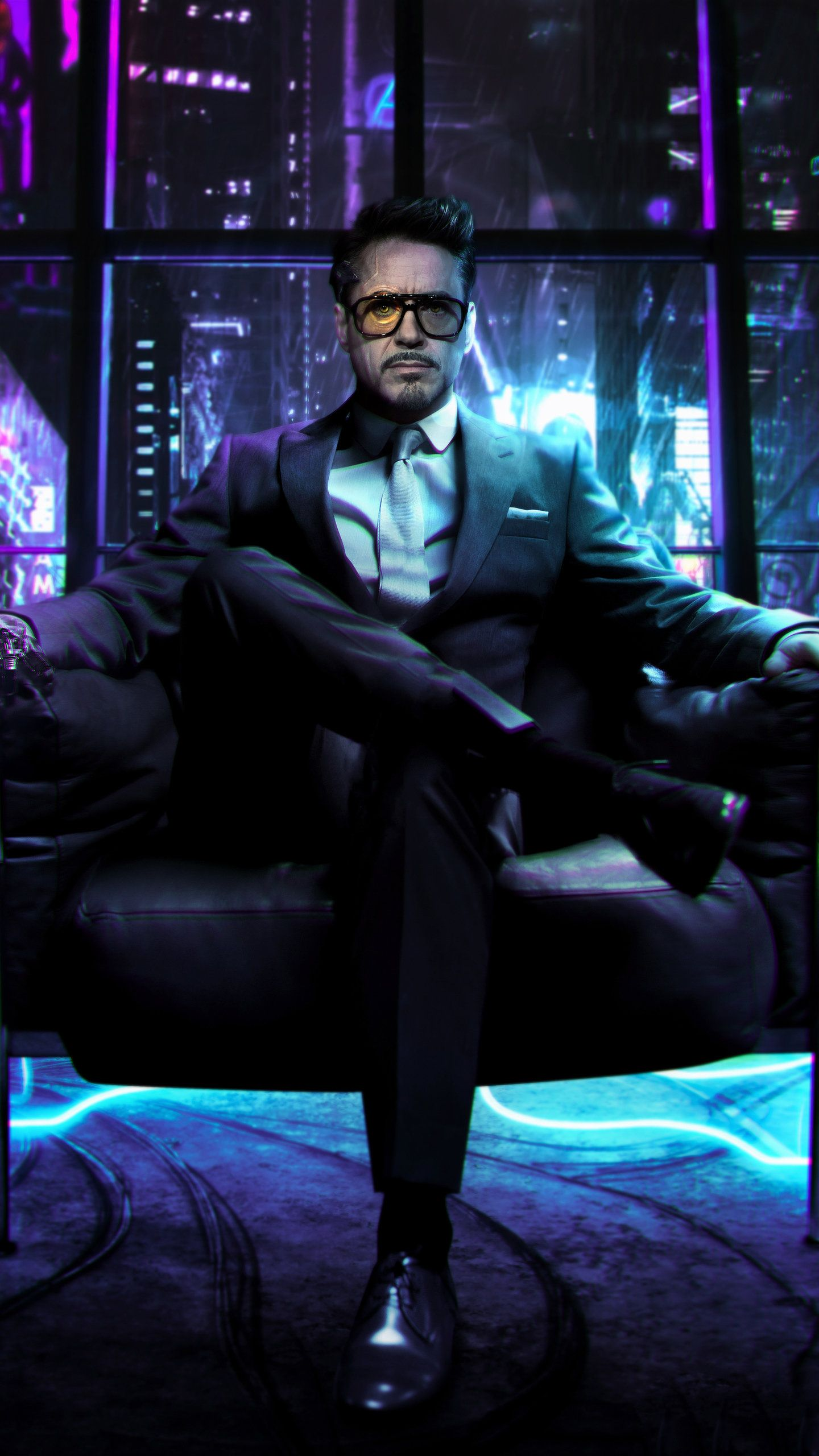 Cyberpunk 2077 Tony Stark, HD Games Wallpapers Photos and