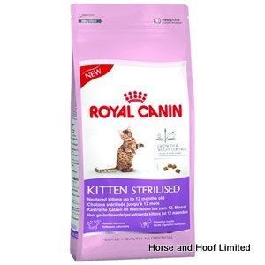 Royal Canin Sterilised Kitten Food 2kg Royal Canin Kitten Sterilised Has Been Specially Designed For Neutered Kittens With Images Kitten Food Royal Canin Cat Food Coupons