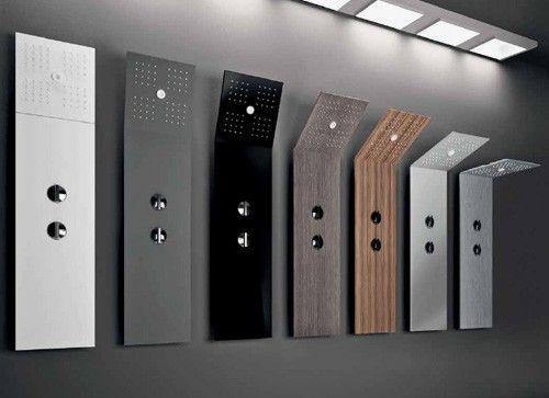 Modern Shower Head Design   Modern And Minimalist Shower With Folding Head  U2013 Pile Shower Column
