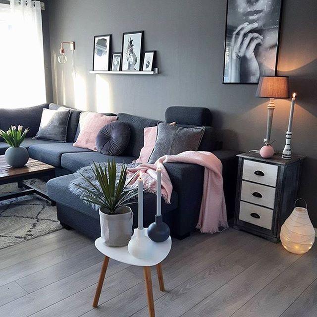 Wohnzimmer dunkel mit holzdielenrepinned für Gewinner! - jetzt - wohnzimmer grau rosa